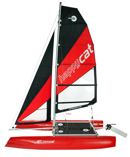 catamaran sails jib main window grabner happy cat neo
