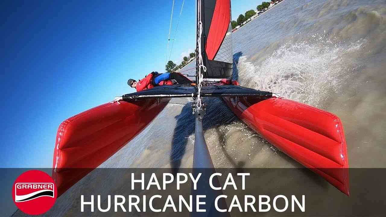 HAPPY CAT HURRICANE CARBON – Leichtwind Balancier-Spaß