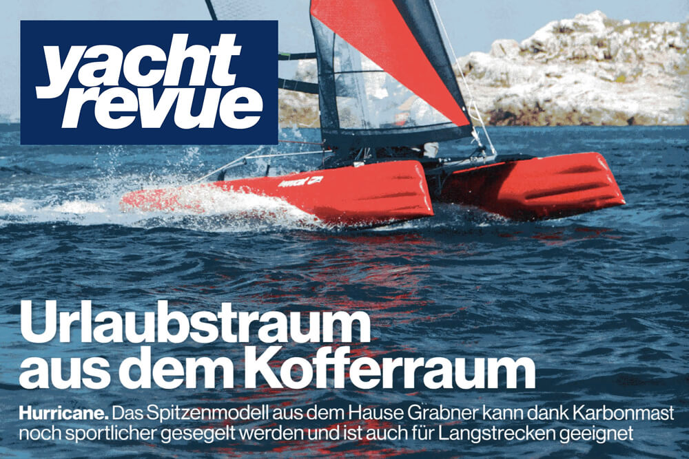 Testbericht: HAPPY CAT HURRICANE CARBON Yacht Revue